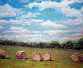 THE HAY BALES - click to view larger image...