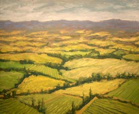 TUSCAN FIELDS - click to view larger image...