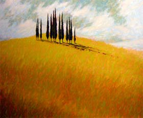 TUSCAN TREES - click to view larger image...